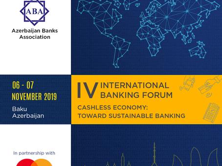 IV Международный банковский форум «Безналичная экономика: Устойчивый банкинг»