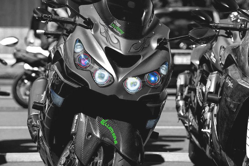 ZX-14R バイク イカイカリング LED Kawasaki kawasaki