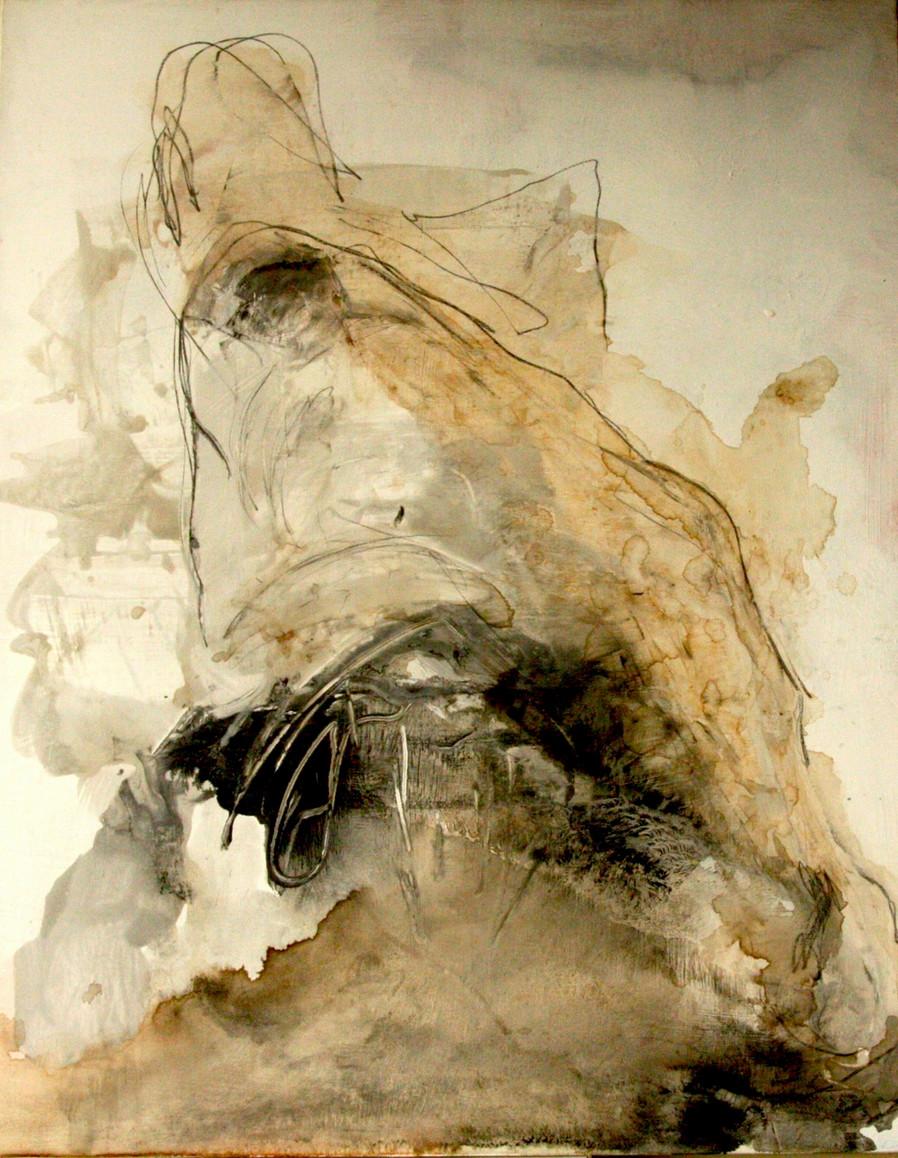 Figure de dos  130x97 cm