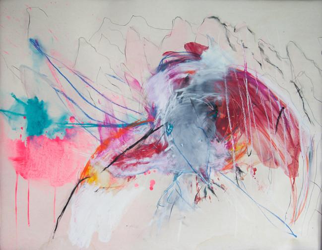 Bird  72x92 cm