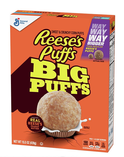 Reese's Cereal Big Puffs