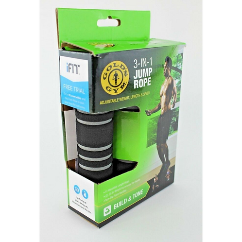 Golds Gym  3 in 1 Jump Rope