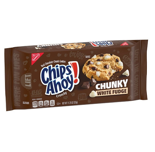 Chips Ahoy Chunky White Fudge