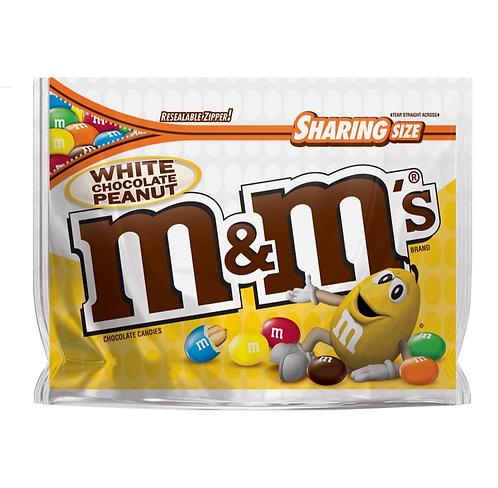 White Chocolate Peanuts M&M's