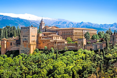 PRIVATE GUIDED GRANADA + ALHAMBRA PALACE TOUR (FROM MALAGA)