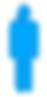 boneco azul