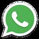 ícone-whatsapp cor branco e verde