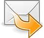 icone email branco