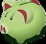 cofrinho verde