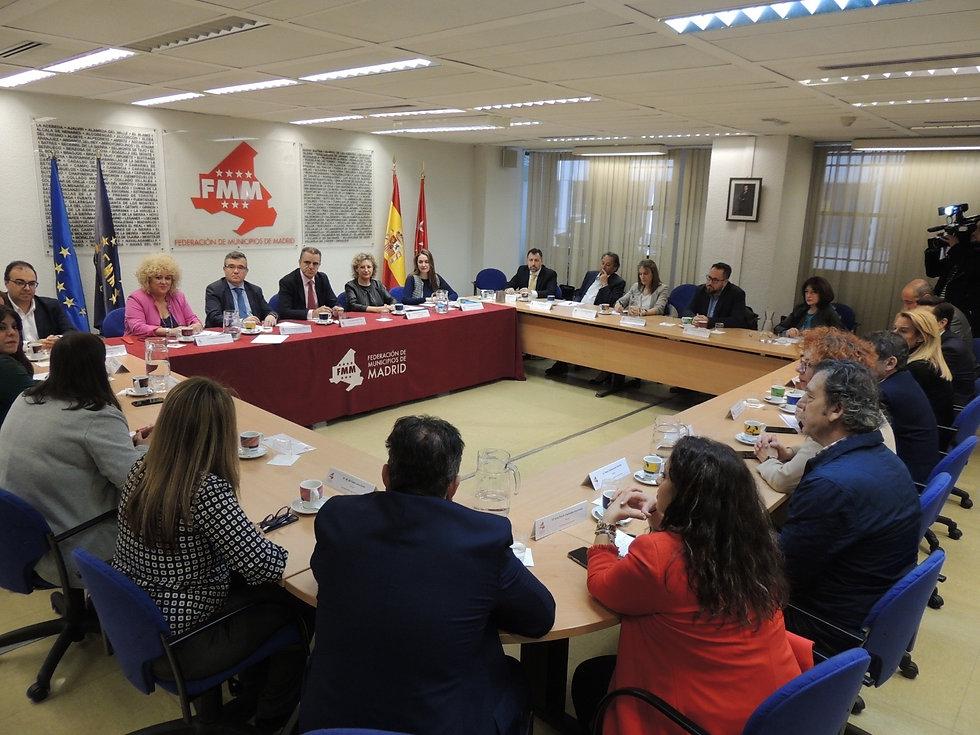 ayuntamientos municipios madrid federacion