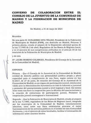 IMAGEN CONVENIO CONSEJO JUVENTUD 310521.