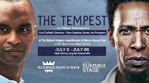 Classical Theatre of Harlem's THE TEMPEST Begins Tonight