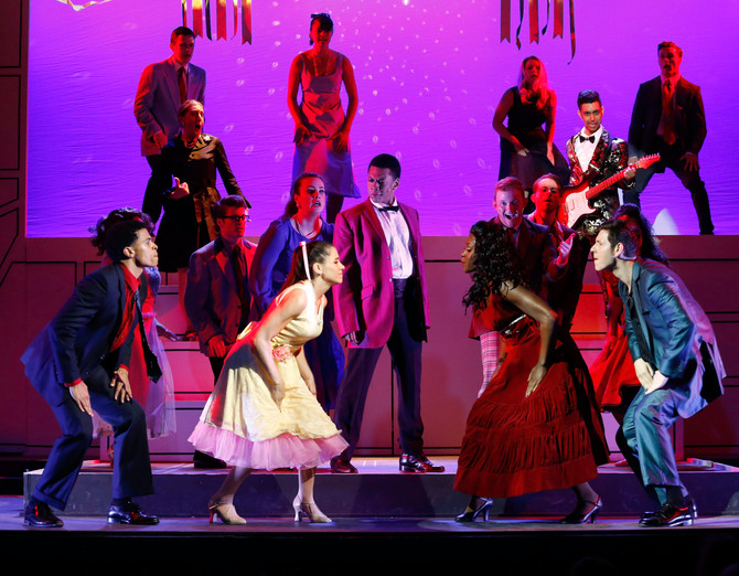 """Ivoryton's ""Grease"" marks a reunion for Johnny Newcomb and Alyssa Gomez"""