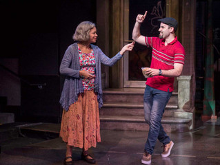 """""""...Ryan Alvarado is a perfect Usnavi, confident in the rapid-fire verbosity of the music while"""