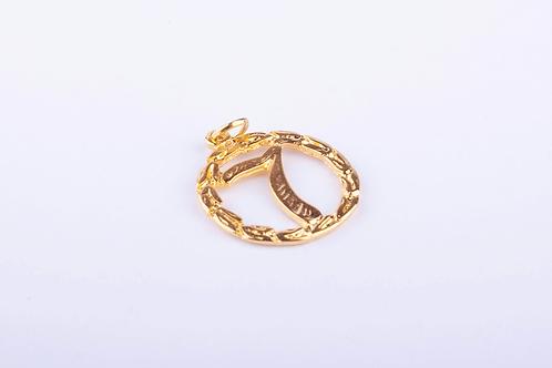 Pingente Sete Dourado PI5453