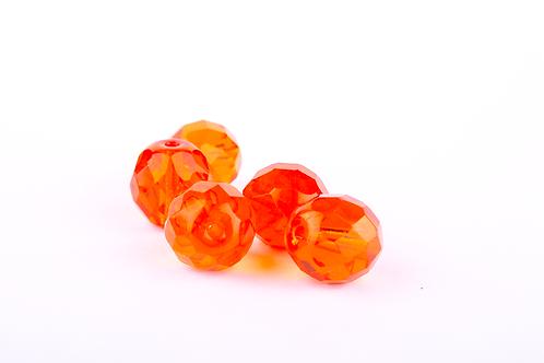 Conta Cristal Laranja 90020