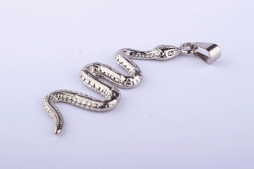 Pingente Orixá Cobra Níquel