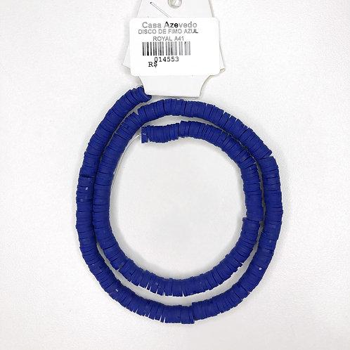 Fimo de Disco Azul Royal - 014553