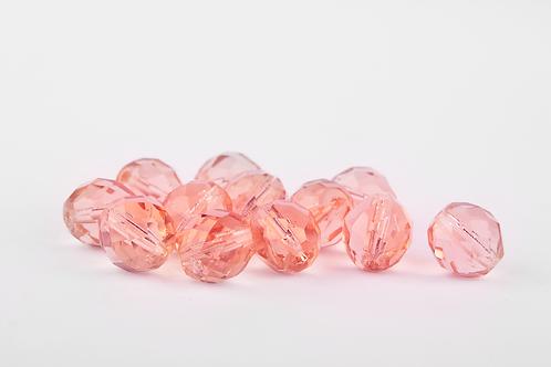 Conta Cristal Rosa
