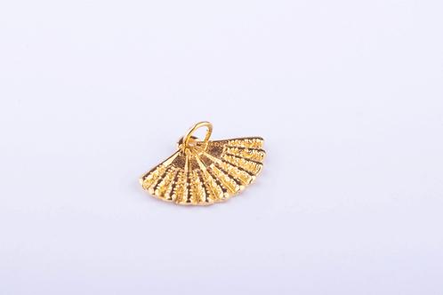 Pingente Leque Dourado PI4592