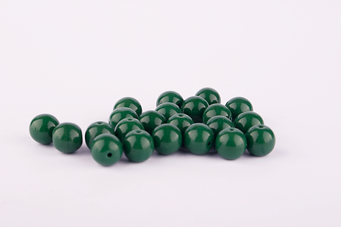 Conta de Louça Verde Musgo