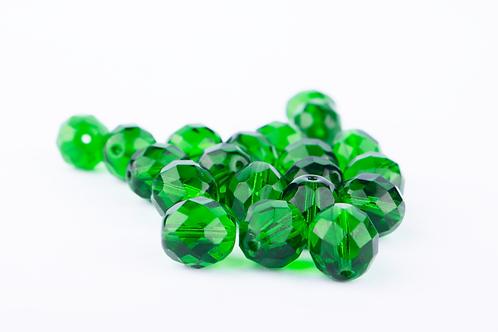 Conta Cristal Verde Bandeira
