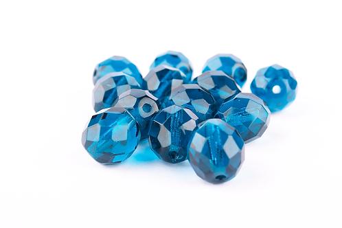 Conta Cristal Azul Royal
