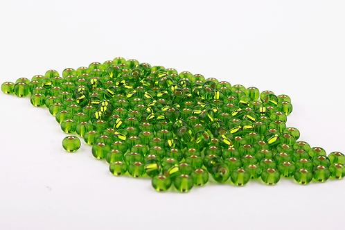 Miçanga Cristal Verde Claro