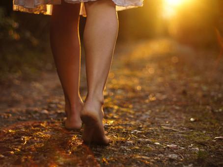 Humble Feet Walking...