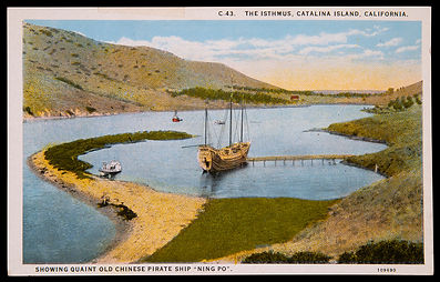 Ning Po at Isthmus Harbor postcard.jpg