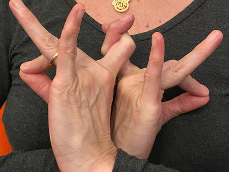 Mudra of the Month:  Abundance & The Heart