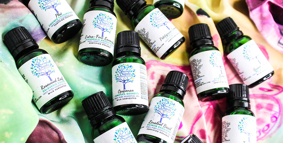Sacred Scents Aromatherapy Training Fall 2021