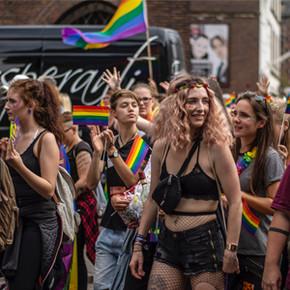 Der CSD - Eine bunte Regenbogenparade