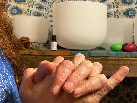 Mudra of the Month:  Communication, Clarity, & Consciousness