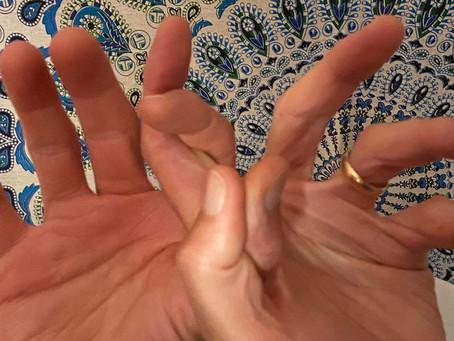 Mudra of the Month:  Thyroid Mudra