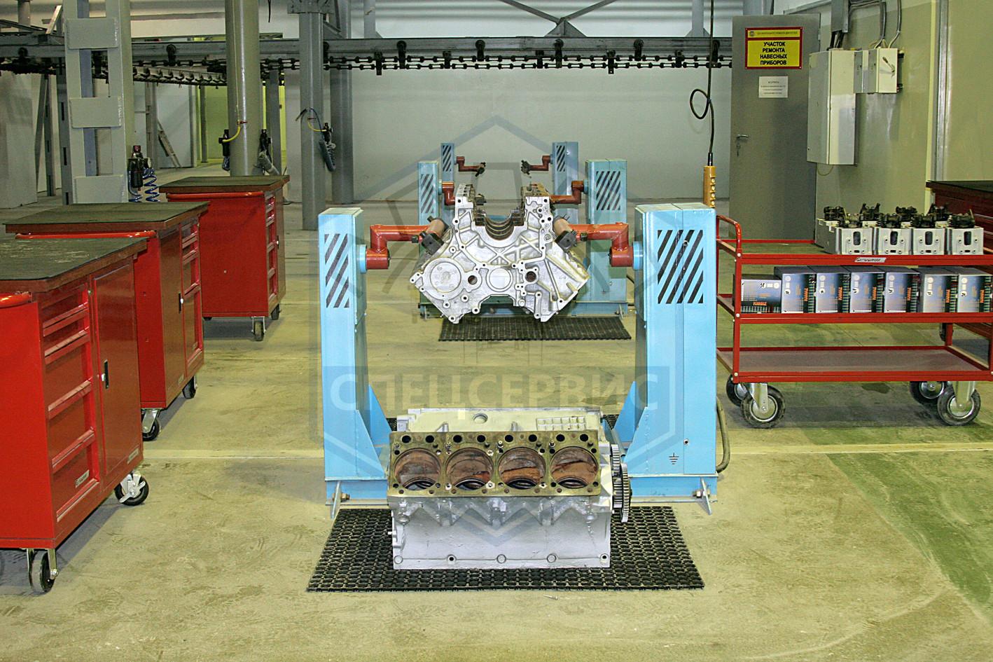 Восстановление блока двигателя