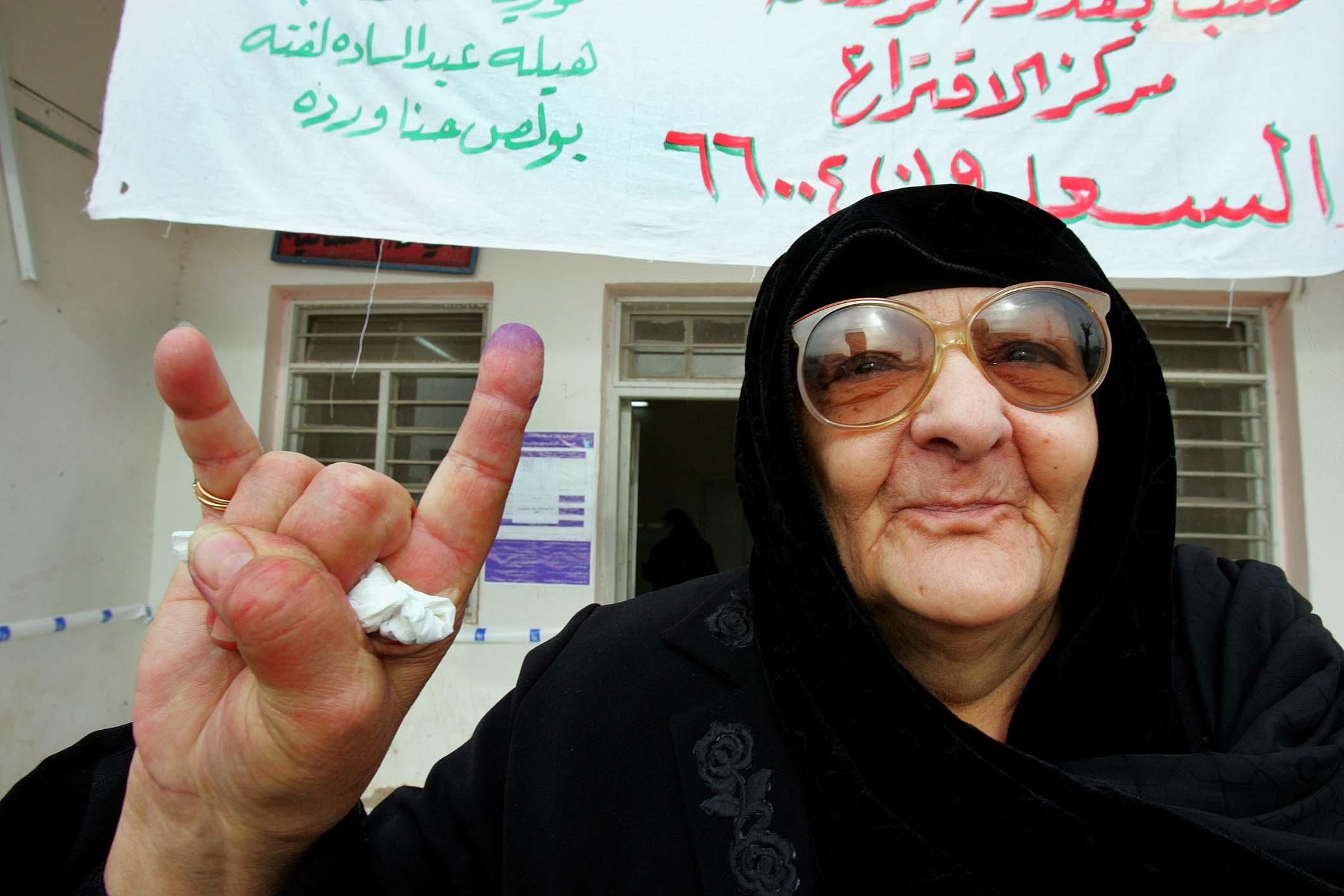 Guerra do Iraque - Eleições 2005