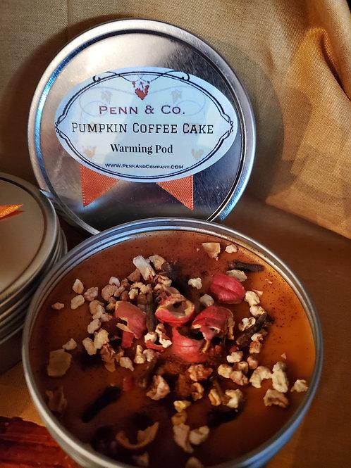 Pumpkin Coffee Cake warming Pod
