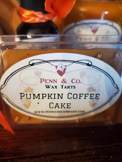 Pumpkin Coffee Cake Wax Tart