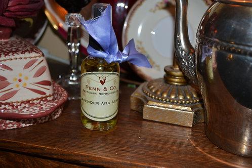 Lavender and Lemon Refresher Oil