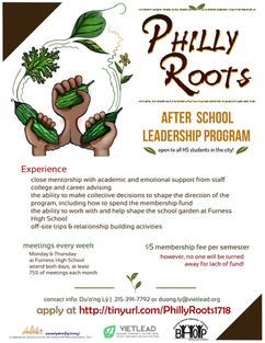 Philly Roots Flyer