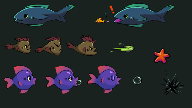 Early Fish Concepts