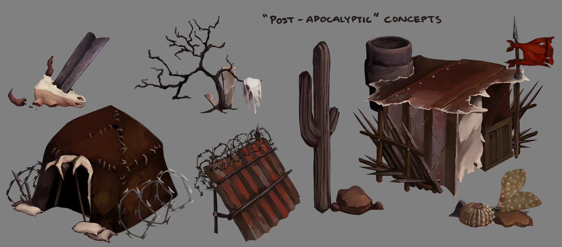 Post-Apocalyptic Concepts