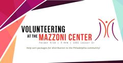Mazzoni Volunteering Banner