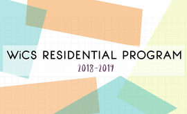 WiCS Residential Program Banner