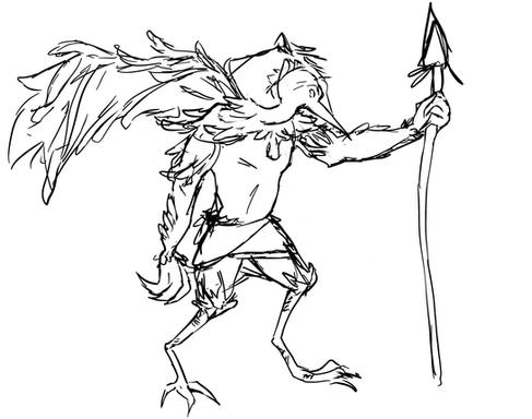 Bird Warrior Concept