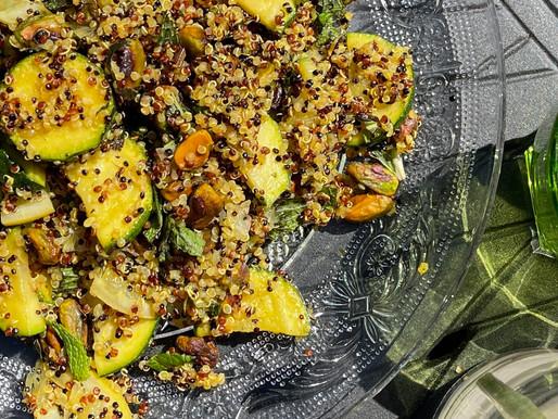 Turmeric Spiced Quinoa Salad