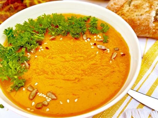 Roasted Pepper & Carrot Soup