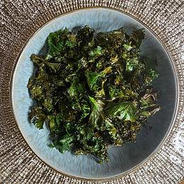 Spiced Roasted Kale