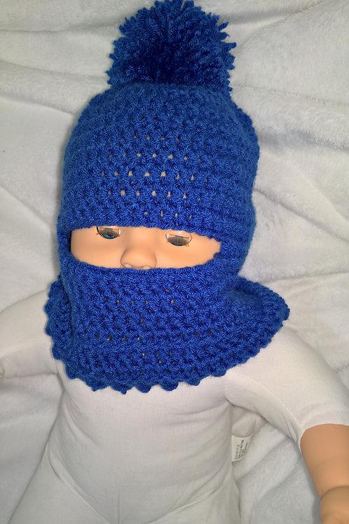 Baby ski mask hat